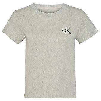 Calvin Klein CK One Lounge Short Sleeve Crew Neck T-Shirt - Grey Heather