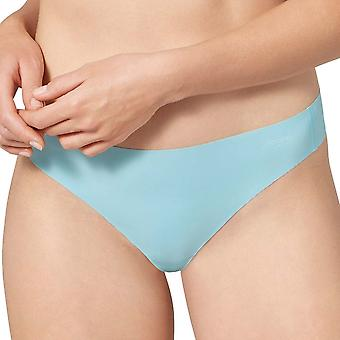Sloggi Women ZERO Feel Thong, Soft Turquoise, Large