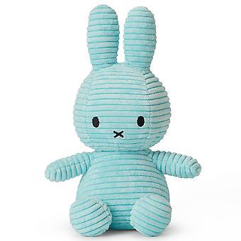 Miffy Bunny Corduroy Soft Toy, Turquoise