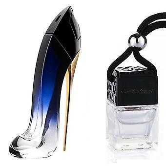 Carolina Herrera Good Girl voor haar geïnspireerde geur 8ml Zwarte Deksel Fles opknoping Auto Voertuig Air Freshener