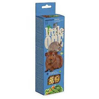 Little One Palitos de Snacks con Vegetales (Small pets , Treats)
