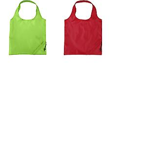 Bullet Bungalow Foldable Polyester Tote (Pack of 2)