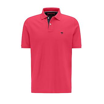 Fynch-Hatton Fynch Hatton Polo Shirt Flamingo