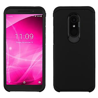 ASMYNA Astronoot Case for Alcatel T-Mobile Revvl 2/Revvl 2/3 - Black/Black