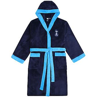 Tottenham Hotspur FC Presente Oficial Mens Hooded Fleece Robe