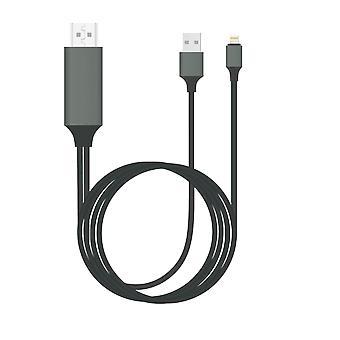 Plug & Play Lightning naar HDMI-kabel in 2m voor iPhone & iPad