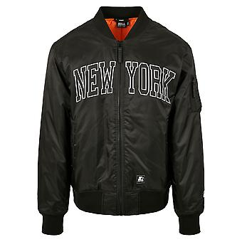 Starter Men's Bomber Jacket New York