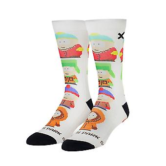 South Park Retro 8-Bit Sublimated 360 Crew Socks