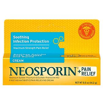 Neosporin + first aid antibiotic/pain relieving cream, 0.5 oz