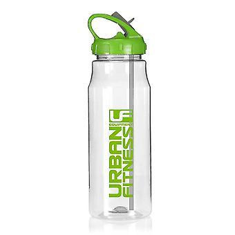 Urban Fitness Hydro Woda Fitness Butelka napoju Clear/Green 700ml