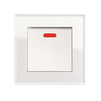 Ich LumoS als Luxus weißem Kristallglas einzigen geschalteten 45A Herd Schalter