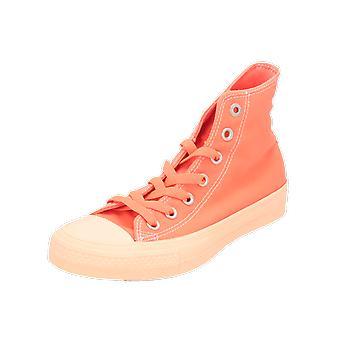 Converse CTAS II HI Damen Herren Sneaker Orange Turn-Schuhe Sport Lauf Schuhe