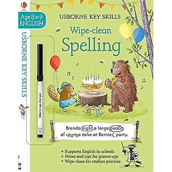 Wipe-Clean Spelling 8-9 by Caroline Young - 9781474968539 Book