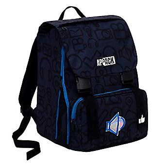 Appack Extensible School Backpack - MICRO MACRO - Blue - 28 Lt - elementary and medium school