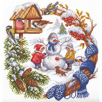 Panna Cross Stitch Kit : Winter Fun