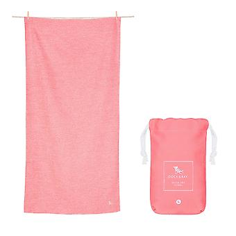 Dock & bay quick dry towel - eco - volcanic red