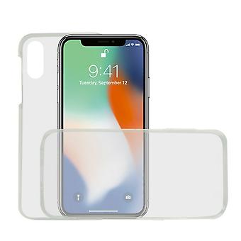 Mobilt omslag Iphone Xr KSIX Flex 360 (2 st)/Transparent