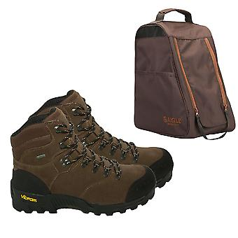 AIGLE Altavio Hiking Boots - Gore Tex Waterproof ankle support - with Aigle bag