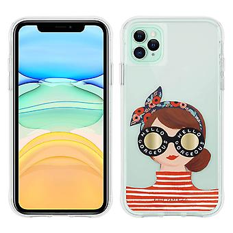 Case for iPhone 11 Pro Anti-drop- Gorgeous Girl- Rifle Paper- Case Mate