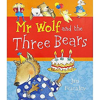DEAN Mr Wolf and the Three Bears by Jan Fearnley - 9780603577567 Book