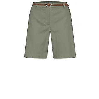 b.young Sea Green Chino Shorts