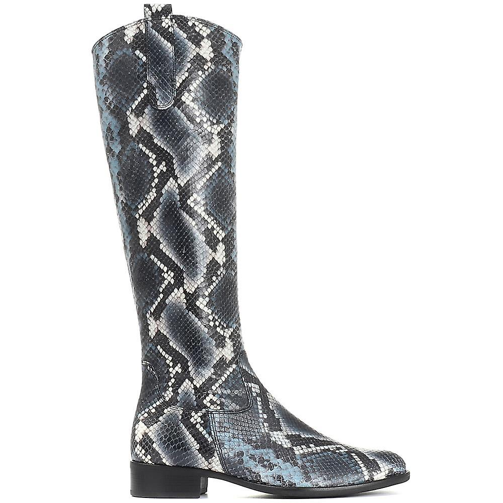 Gabor Womens Leather Riding Boot