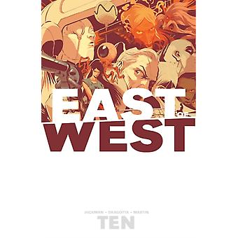 East of West Volume 10 by Jonathan Hickman & By artist Nick Dragotta