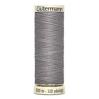 Gutermann Naai-alle 100% polyester draad 100m hand en machine kleurcode - 493