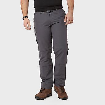Brasher Men's Double Zip-Off Trousers Grey