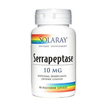 Serrapeptase 10 mg 90 vegetable capsules