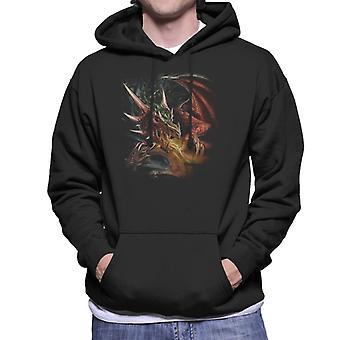 Simya Draco Bazilikası Men's Kapüşonlu Sweatshirt