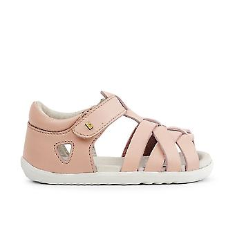 Bobux step  up tropicana pink seashell sandals