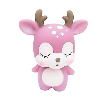 Söt Creative Deer Piggy Bank Cartoon Coin Piggy Bank - Bedårande Mynt Money Box