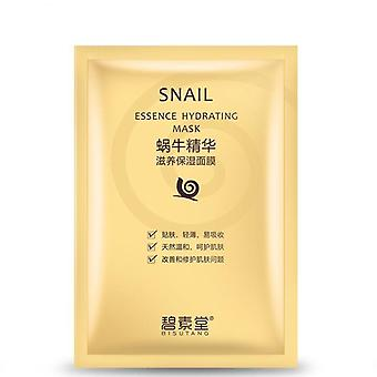 Whitening And Moisturizing Face Mask For Hydrating Skin -genuine Silk Cosmetics With Snail Essence
