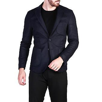 Made in italia rodolfo men's central rear slit blazer