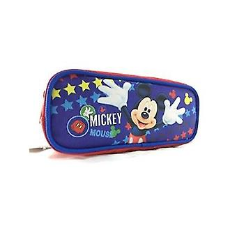 Pencil Case - Disney - Mickey Mouse Blue Pouch Bag Stationery 683160
