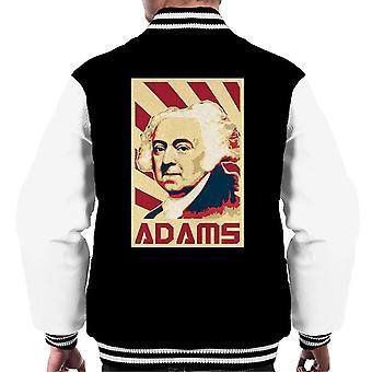 Veste De propagande rétro de John Adams