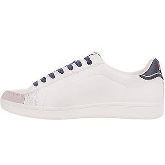 Ellesse Mens Classic Benson Lace Up Limited Edition Low Rise Trainers - White