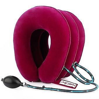 U Hals Luft aufblasbare Hals brace Hals Schulter Schmerz Relax Unterstützung Massage Kissen