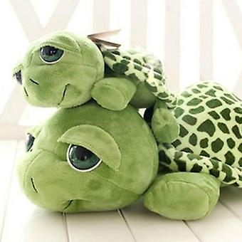 Army Green Big Eyes Turtle Plush Toy For Kids Birthday Christmas Gift
