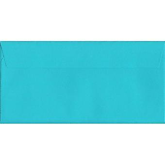 Cocktail sininen kuori/sinetin DL + värjätty sininen kirjekuori. 120gsm Luxury FSC-sertifioitu paperi. 114 mm x 229 mm. Lompakko tyyli kirjekuori.