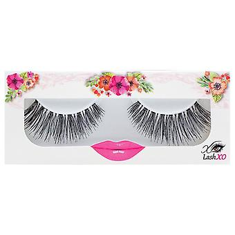 Lash XO Premium False Eyelashes - Glamour - Natural yet Elongated Lashes