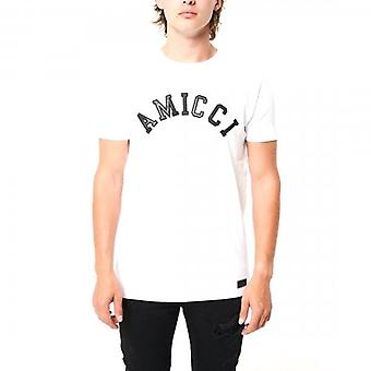 Amicci Sora White Crew Neck T-shirt