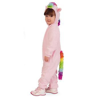 Poni hevonen lapset puku sateenkaari hevonen tyttö