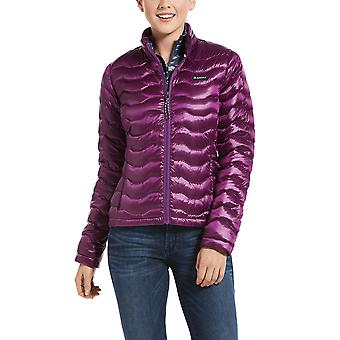 Ariat Ideal 3.0 Womens Down Jacket - Irid Imperial Violet