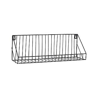 Creative Wall-mounted Iron Storage Racks Home Decoration Large Black
