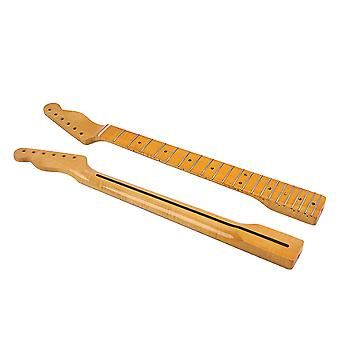 21 Fret Maple Guitar Neck Replacement for Electric Guitar