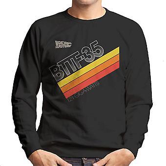 Back to the Future 35th Anniversary 121 Gigawatts Men's Sweatshirt