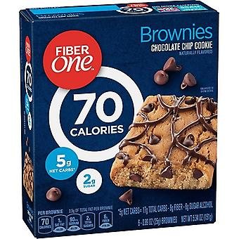 Fiber One 70 Calorie Chocolate Chip Cookie Brownies