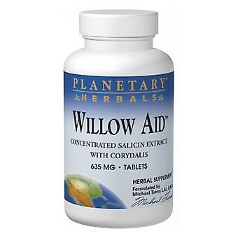 Planetary Herbals Willow Aid, 30 onglets